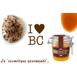 Gommage miel et sucre