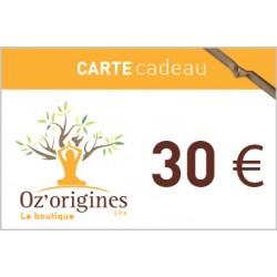 Bon cadeau 30€