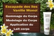 Escapade des îles Vanille Monoï